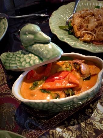 Red duck curry - Picture of Barn Thai Restaurant, Salamander Bay ...