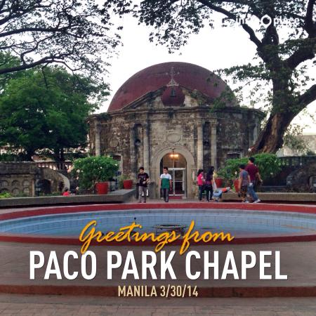 paco park Paco park, was a former municipal cemetery of the old city of manila, and once contained the remains of philippine national hero.