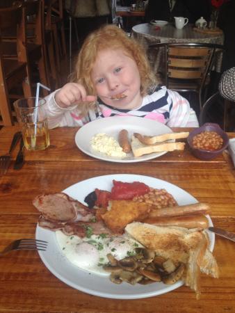 The Secret Garden Cafe: The kids love it here.