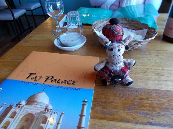 Taj Palace Menu