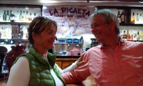 La Picaeta Tapas Bar: Gezellig in de Tapas-bar/restaurant La Picaeta