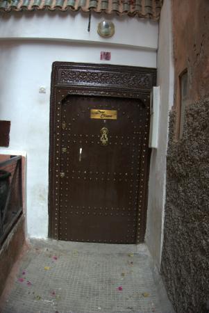 Riad Dar Eliane : Hoteleingang