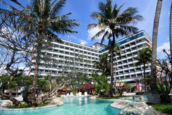 Probably The Best Sea View Hotels In Bali Review Of Inna Grand Bali