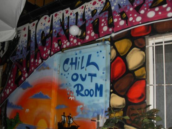 Alcatraz Backpacker Hostel: chill out
