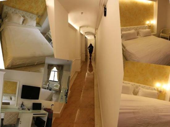 A&EM Corner Saigon Hotel : Room