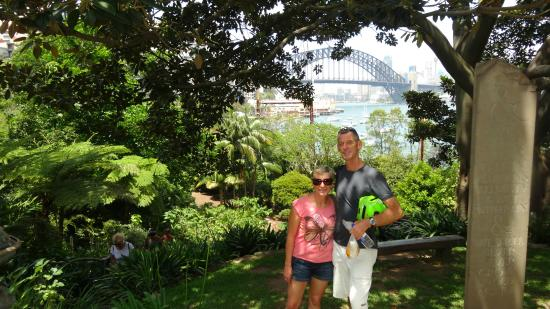Bike Buffs - Sydney Bicycle Tours: Wendy Whitely's Secret Garden - one of the tour highlights