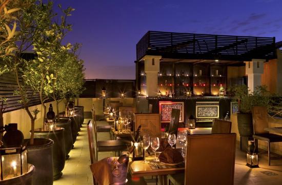Villa Makassar: Terrasse lounge bar