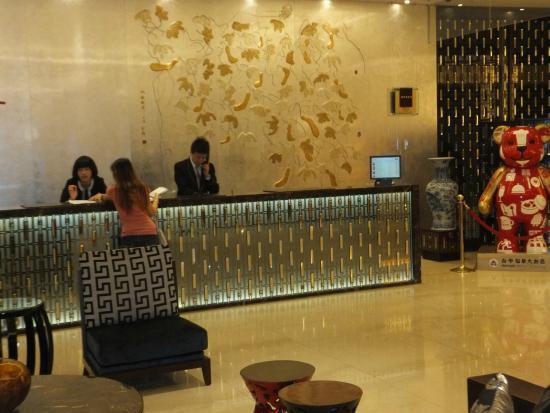 Howard Prince Hotel Taichung: Recep