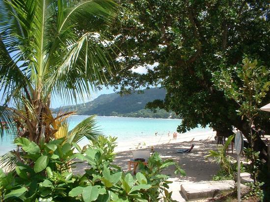 Augerine Guest House : plage devant l'hotel