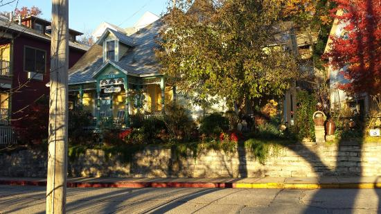 Daffodil Cottage at All Seasons Luxury Properties: I loved the fall colors around the house