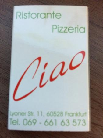 Pizzeria Ristorante Ciao
