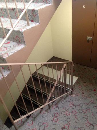 Hotel Ibis Cannes Centre: Escaliers