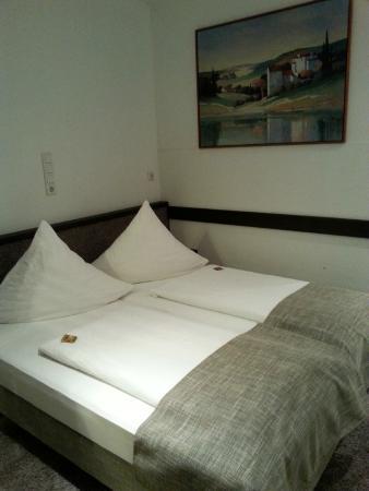 Hotel Granus : Sleeping area of the studio apartment