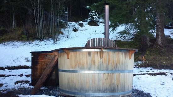 Berggasthaus Marmorbruch: Hot Pot