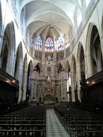 Cathédrale Saint-Étienne : Le choeur gothique