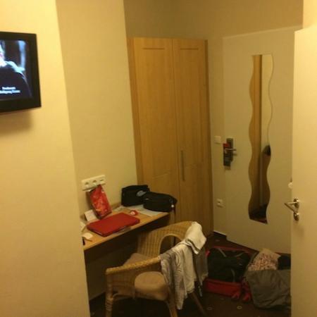 Hotel Myplace: Foto vom Bett aus