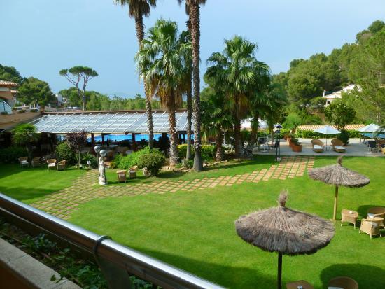 Hotel Restaurante Sa Punta: View from balcony