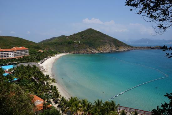 Vinpearl Luxury Nha Trang: вид на Vinpearl resort