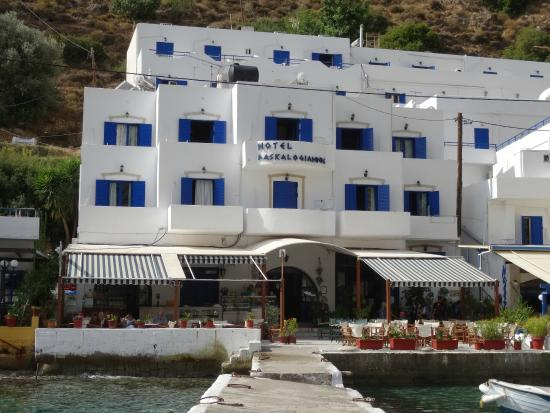 Daskalogiannis Hotel: hotel with its balconys