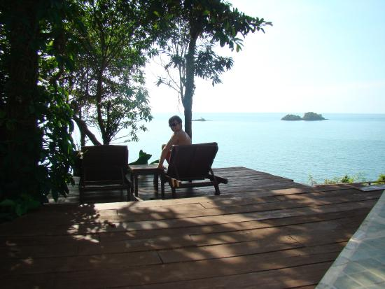 Koh Chang Cliff Beach Resort: верхний бассейн
