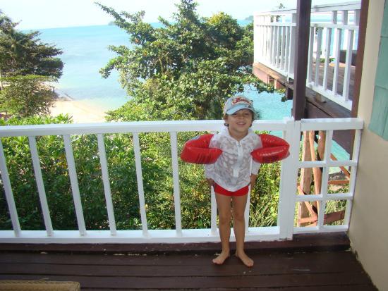 Koh Chang Cliff Beach Resort: вид из номера