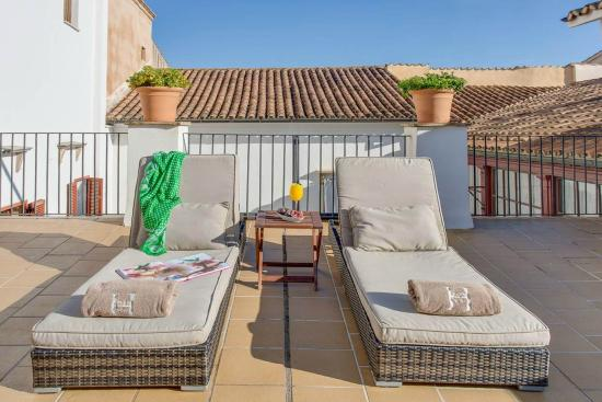 Boutique Hotel Can Cera: Roof terrace