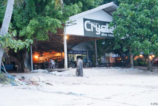Crystal Dive Resort: The front