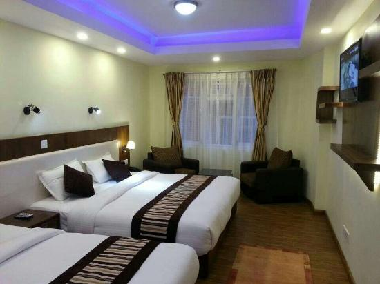 OYO 115 Hotel Backyard: Super Deluxe room