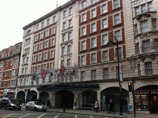 DoubleTree by Hilton Hotel London - West End: Street view of hotel