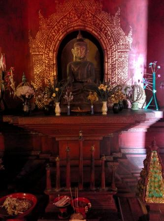 Three Kings Monument: One of the amazing displays, this one on Buddhism.