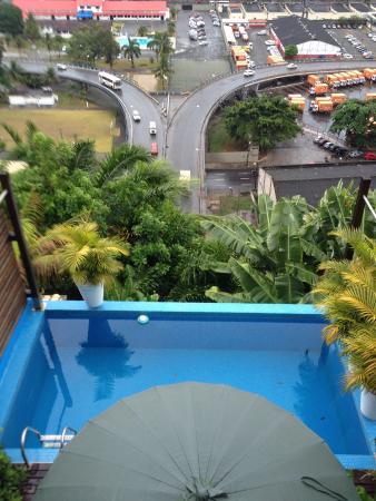 Aram Yami Hotel: Vista do restaurante.
