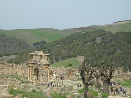 Cuicul Roman Ruins: Site magnifique