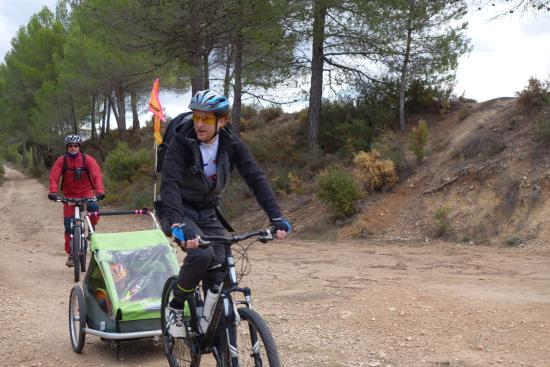 Mountain Biking Valencia   Tours: Biking with preschooler around Sierra de Mariola