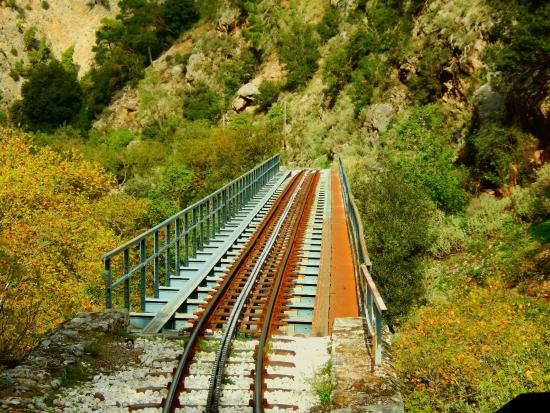 Vouraikos Canyon - Cog Railway : Οδοντωτός Σιδηρόδρομος