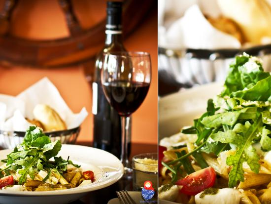 The Ship Inn : Rigatoni Caprese