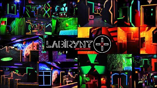 Labirynt Laser Tag