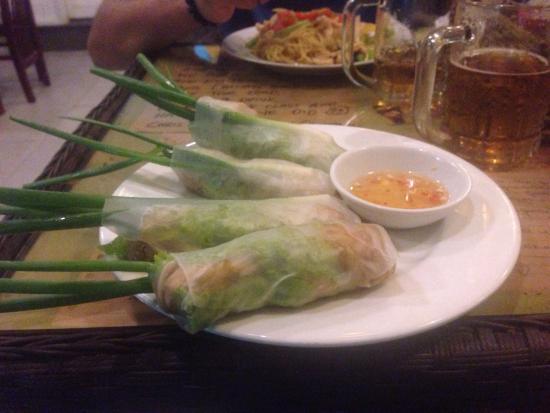 41 Cafe: Fresh spring rolls !