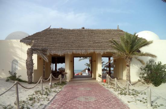 Djerba Golf Resort & Spa : Entrée de la plage