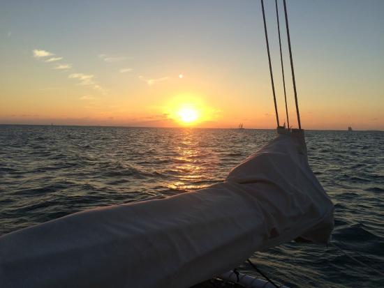Catamaran Echo: November Sunset