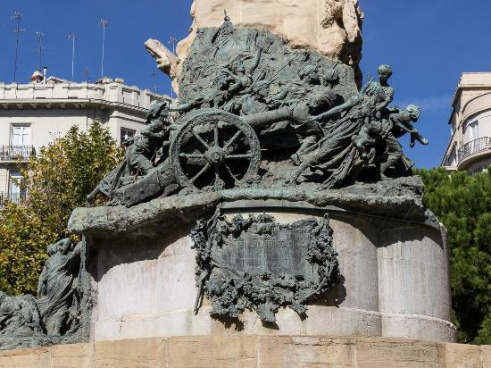 Province of Zaragoza, Spanyolország: Monumento a los Stios de Zaragoza