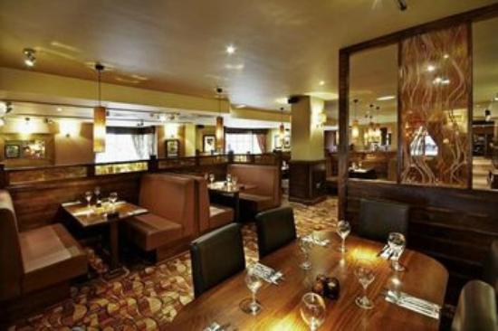 Premier Inn Nuneaton/Coventry Hotel: Typical Beefeater Restaurant