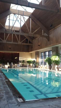 Ameristar Casino Resort Spa Black Hawk: poolside with a view