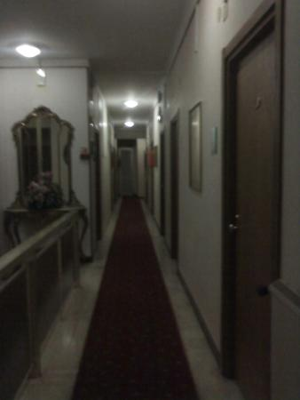 Hotel Patrizia : Corridoio elegante