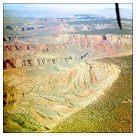 Grand Canyon Airlines - Grand Canyon National Park: A view from the return flight