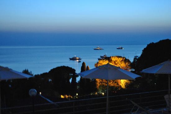 Hotel Casa Rosa: Blick auf die Bucht