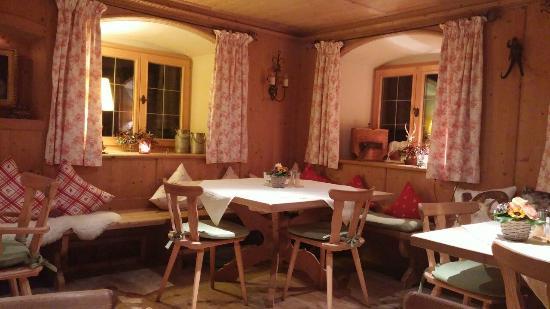 Der Westerhof Hotel: sala de cafe/ lanche, super agradavel