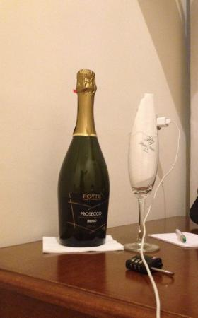 Hotel Italia: brinde do hotel