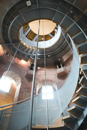 The Lighthouse: The Helical Staircase
