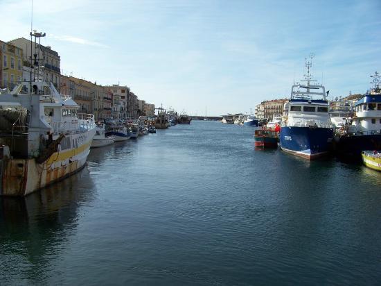 Vue Du Bateau Dans Sète Picture Of Hotel Port Marine Sete - Hotel port marine sete
