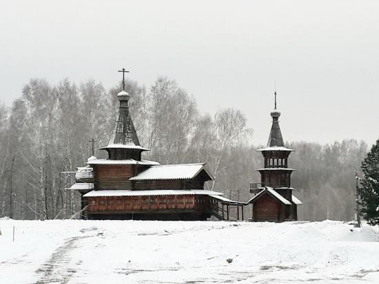 Историко-архитектурный музей под открытым небом Академгородок